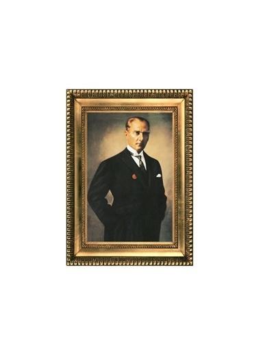 Artikel Atatürk-20 Kanvas Tablo Çerçeve Efektli 50X70 Cm Renkli